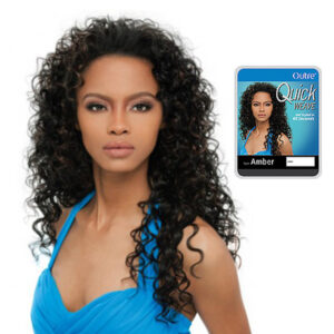 OUTRE QUICK WEAVE HALF CAP WIG – AMBER