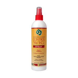 African Essence Control Wig Spray 3-In-1 Formula 12oz