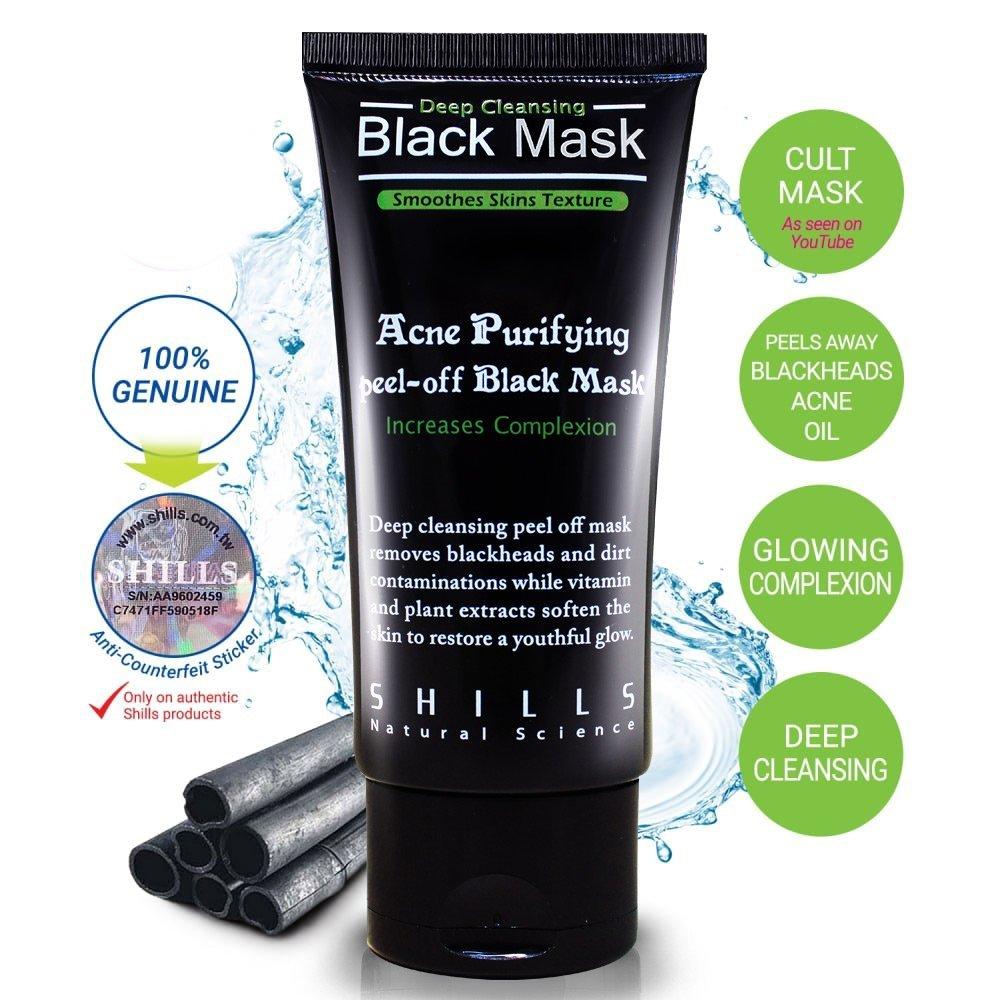 SHILLE-Acne Purifying Peel-off Black Mask