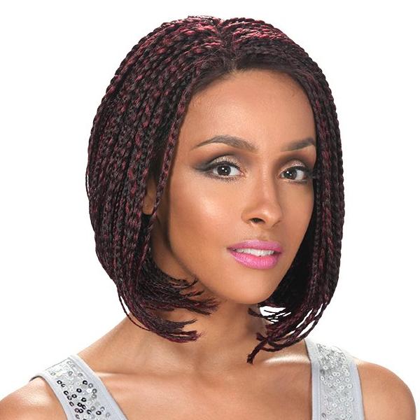 Zury SIS Lace Braided Wig-BOB A-Line