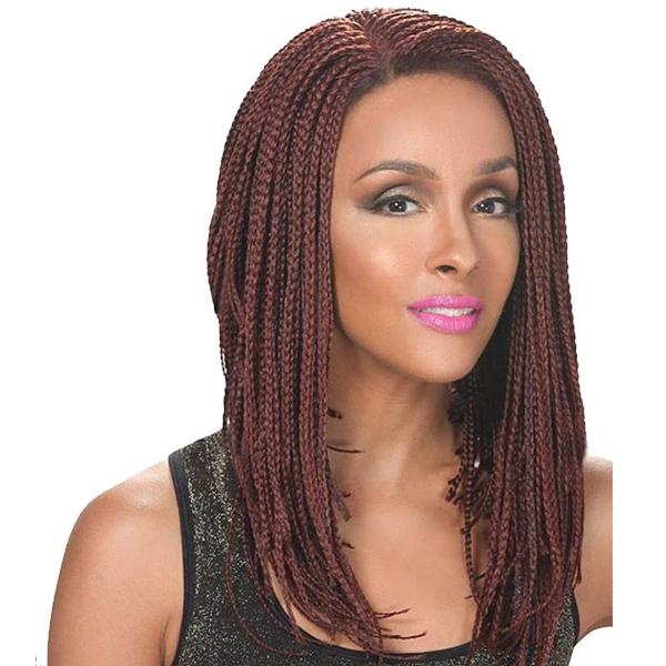 Zury SIS Lace Braided Wig-Lob Angled