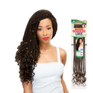 Janet Collection 2X Mambo Goddess locs Straight 20