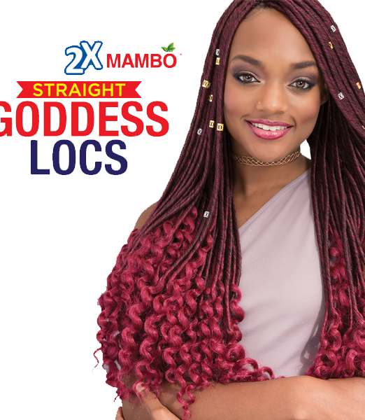 Janet Collection 2X Mambo Goddess locs Straight 20-6