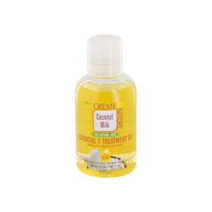 Creme of nature coconut milk essential 7 treatment oil 4oz