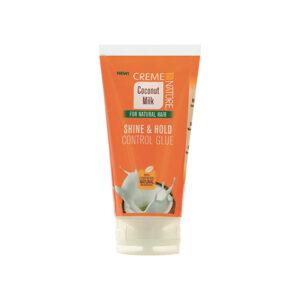Creme of nature coconut milk shine & hold control glue 5.1oz