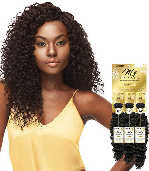 Outre Mytresses Gold Label Unprocessed Human Hair Boho Deep