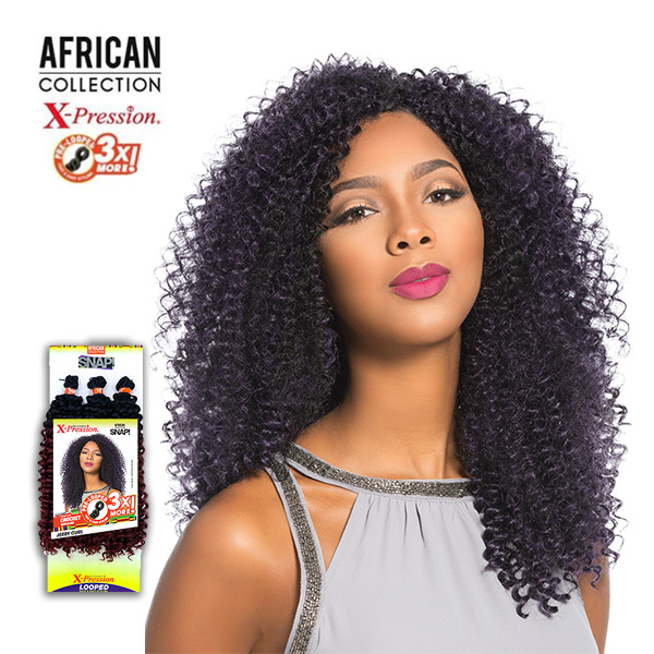 Sensationnel African Collection Snap 3x Pre Looped Crochet Braid