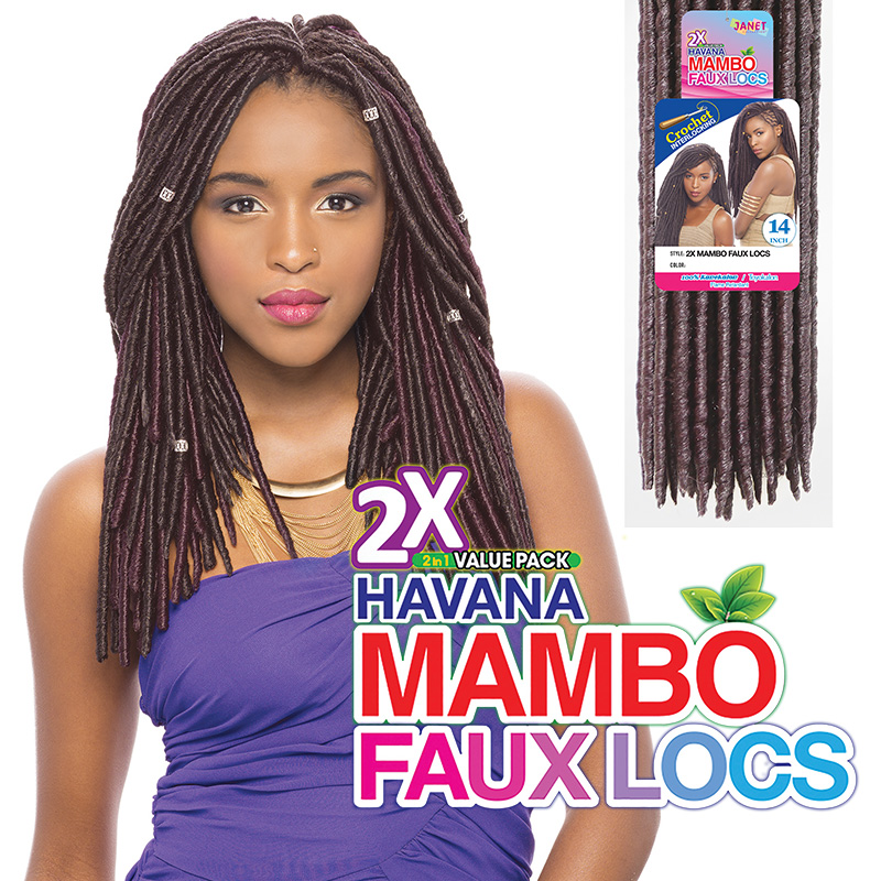 Janet Collection 2x Mambo Faux Locs 14 Canada Wide Beauty