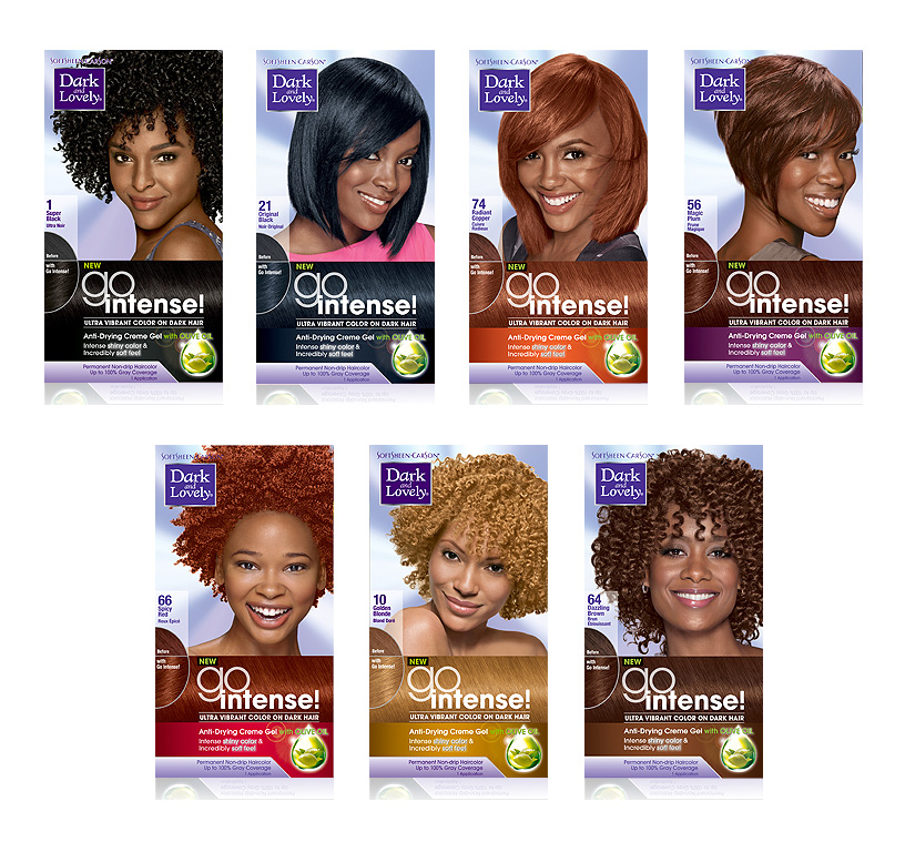Dark And Lovely Hair Color Go Intense Canada Wide Beauty Supply
