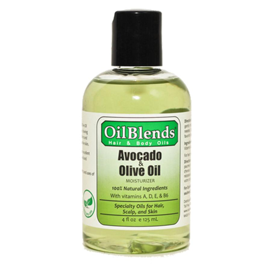 Avocado oil scalp