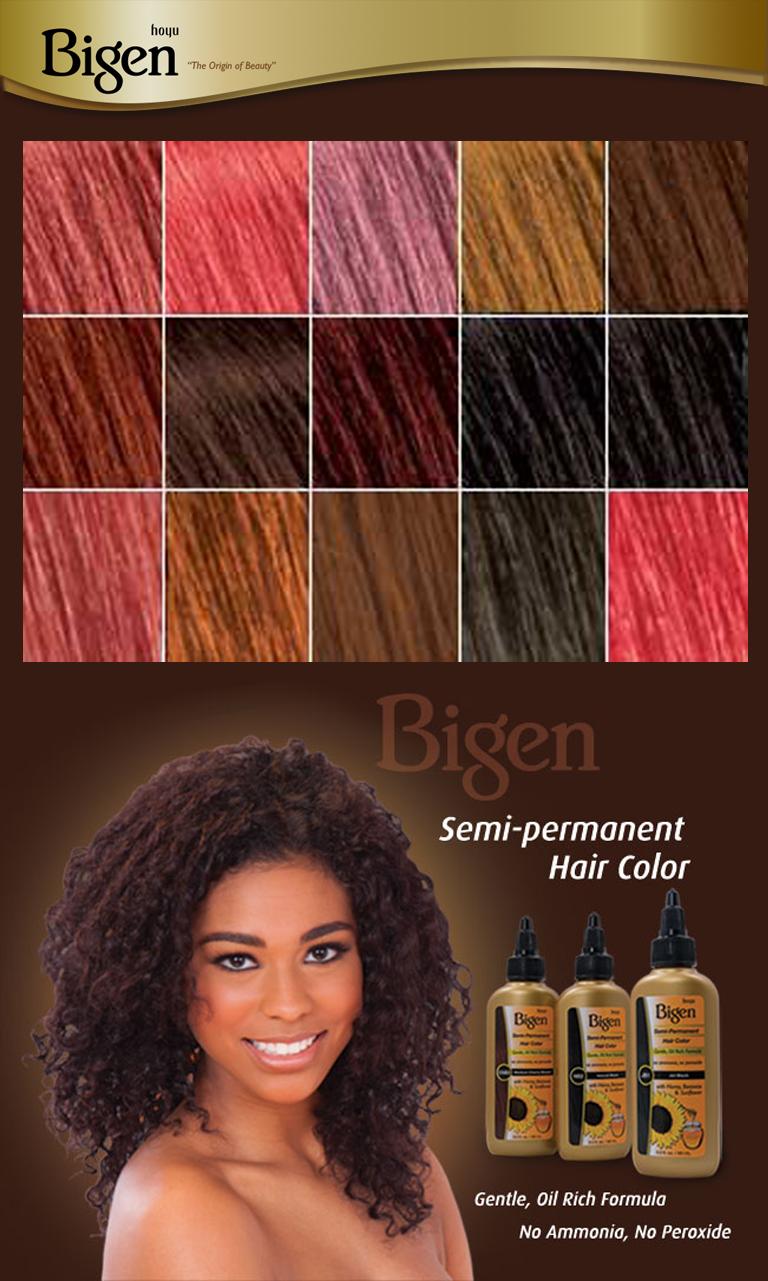 Bigen Semi Permanent Hair Color Hairmall Ca